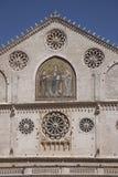 Catedral Spoleto. Fotografía de archivo