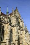 A catedral St Peter de Regensburg em Regenburg imagem de stock