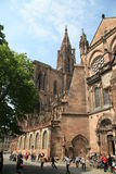 Catedral Strasbourg Imagens de Stock