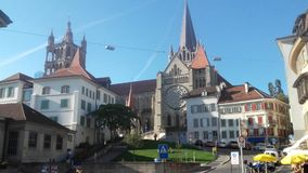 Catedral suíça da vista Foto de Stock