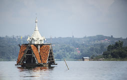 Catedral subaquática Fotografia de Stock Royalty Free
