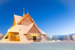 Catedral Sweden de Kiruna Fotos de Stock