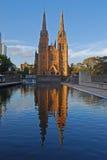 Catedral Sydney de St Mary Imagen de archivo libre de regalías
