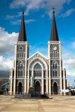 Catedral tailandesa Fotografia de Stock