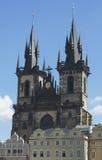 Catedral/templo de Tynsky Fotos de Stock