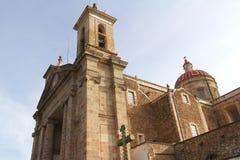 Catedral V de Tulancingo imagenes de archivo