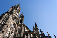 Catedral velha Fotos de Stock Royalty Free