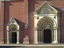 Catedral velha de St Peter em Djakovo, Croácia fotografia de stock