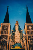 Catedral velha em Chanthaburi Imagens de Stock Royalty Free