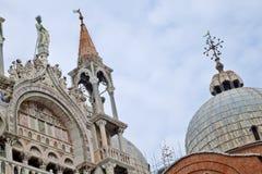 Catedral Veneza de Basílica di San Marco St Mark s Fotos de Stock Royalty Free