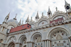 Catedral Veneza de Basílica di San Marco St Mark s Foto de Stock