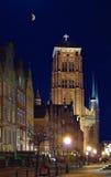 Catedral vieja del St. Maria en Gdansk Foto de archivo libre de regalías
