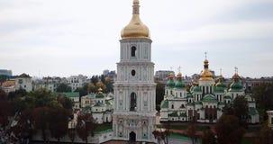 Catedral vieja en Kyiv almacen de video