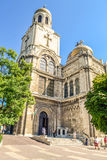Catedral vieja en Varna Foto de archivo