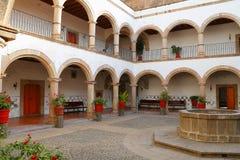 Catedral VII de Tulancingo imagenes de archivo
