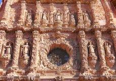 Catedral VII de Zacatecas imagen de archivo libre de regalías