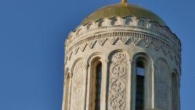 Catedral Vladimir Russia do St Dimitry video estoque