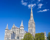 Catedral Wiltshire Inglaterra Reino Unido de Salisbúria imagens de stock