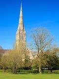 Catedral Wiltshire Inglaterra Reino Unido de Salisbúria foto de stock royalty free