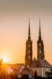 Catedral Wroclaw Fotografia de Stock