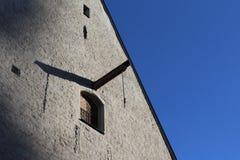 Catedral y cielo azul foto de archivo