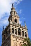 Catedral y La Giralda, Sevilla Fotos de archivo libres de regalías