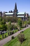 Catedral y necrópolis de Glasgow imagen de archivo