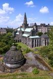 Catedral y necrópolis de la lana de borra del St de Glasgow imagenes de archivo