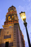 Catedral Zacatecas, México foto de archivo