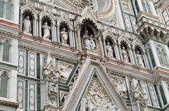 Catedrala di Santa Maria del Fiore - Firenze Duomo, Italien Fotografering för Bildbyråer