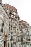 Catedrala di Santa Maria del Fiore - Firenze Duomo, Italien Arkivfoton