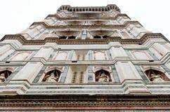 Catedrala di Santa Maria del Fiore, Giotto torn - Firenze Duomo, Italien Royaltyfria Foton