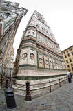 Catedrala di Santa Maria del Fiore, Giotto tower - Firenze Duomo, Italy Stock Image