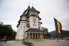 Catedrala Nasterea从Gura Humorului罗马尼亚的Maicii Domnului 图库摄影