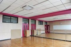 Categorías interiores: decoración del sitio de la danza de la escuela Fotografía de archivo libre de regalías
