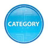 Category floral blue round button. Category Isolated on floral blue round button vector illustration