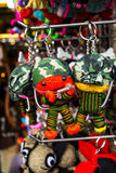 Catena chiave al negozio di ricordo in Tailandia fatta a mano Fotografia Stock