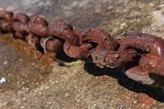 catena del ferro Fotografia Stock Libera da Diritti