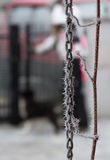Catena del gelo Fotografia Stock Libera da Diritti