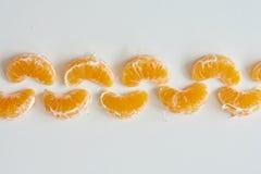 Catena del mandarino Fotografia Stock Libera da Diritti