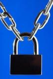 Catena del metallo e della serratura fotografia stock libera da diritti