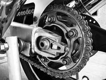 Catena del motociclo Fotografia Stock Libera da Diritti