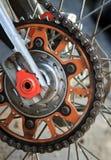 Catena del motociclo Fotografie Stock Libere da Diritti