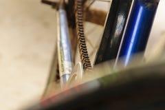 Catena della bicicletta Fotografie Stock Libere da Diritti