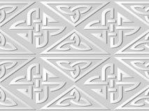 catena della pagina dell'incrocio del controllo del triangolo di arte del Libro Bianco 3D Fotografia Stock