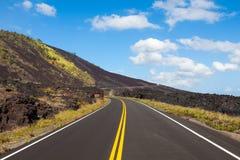 Catena della strada dei crateri Fotografie Stock Libere da Diritti