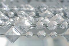 Catena di modello a forma di diamante della collana Fotografie Stock Libere da Diritti