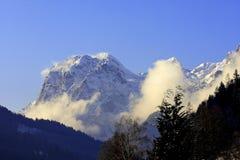 Catena di montagna Fotografie Stock Libere da Diritti