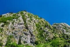 Catena di montagna Fotografia Stock