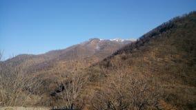 Catena di montagna in Lori l'armenia Fotografie Stock Libere da Diritti
